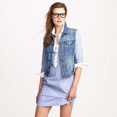 love this jean vest