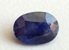 1 Pc 8.5x11.7mm Blue Sapphire Faceted Oval Cut by gemsforjewels