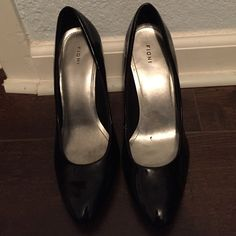 Pumps Super comfortable and versatile black pumps about 3 inch heels only slight ware FIONI Clothing Shoes Heels