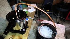 """It's all about that white lightening! You Can Make Your Own Table Top Moonshine Still From A Pressure Cooker & Hose. The Quality Isn't That Bad Either. I grew up hearing stories from my grandfather about how his father used to make his own special batch of brew. Heck, I think every family (or at<a href=""""http://www.diybullseye.com/modern-day-moonshine-still-almost-like-the-one-grandpa-made/"""" title=""""Read more"""" >...</a>"""