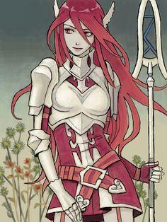 Fire Emblem Awakening | Cordelia Source: http://tegaki.pipa.jp/201308/23374209.html