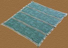Rocking Horse Baby Blanket Knitting Pattern