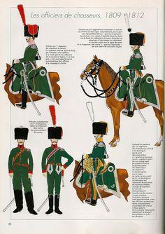 MINIATURAS MILITARES POR ALFONS CÀNOVAS: LES CHASSEURS A CHEVAL 1800-1815, por Andrè JOUINEAU