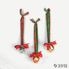 Large Jingle Bell Ornament Craft Kit