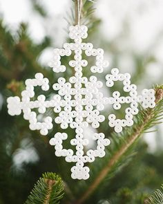 Sweet Paul's EASY Fuse Bead Snowflakes
