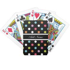 Monogram Playing Cards