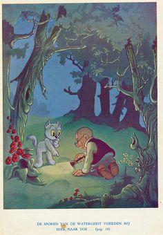 Marten Toonder Tom Poes en de Watergeest 1950