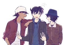 Magic For Kids, Detective Conan Wallpapers, Kaito Kid, Magic Kaito, Case Closed, Cartoon Characters, Sherlock, Police, Nostalgia