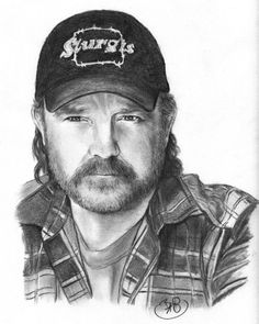 Supernatural fanart - Bobby - artist unknown (if this is yours please leave a comment so I can give credit)