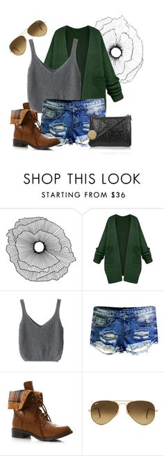 """Statue of Liberty"" by saraihe ❤ liked on Polyvore featuring Home Decorators Collection, Ray-Ban and Vivienne Westwood"