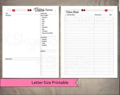 Planner Ideas, Planner Pages, Printable Planner, Printables, Calendar Pages, Cover Pages, Letter Size, Finance, December