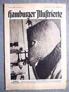 "Газета ""HAMBURGER ILLUSTRIERTE №40"" 1944 г. 3 Рейх."