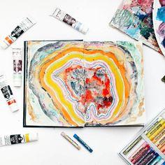 Get Messy  art journal (@sasha_zeen)
