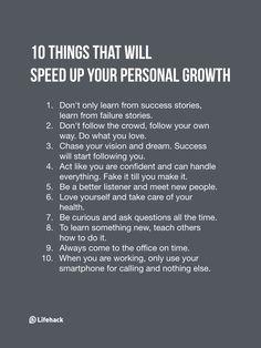 Note Of These 10 Things If You Want To Accelerate Your Personal Growth You have to first focus on yourself.You have to first focus on yourself. Life Quotes Love, Quotes To Live By, Focus Quotes, Quotes Positive, Spiritual Quotes, Life Advice, Good Advice, Self Development, Personal Development