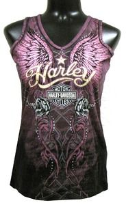 Harley-Davidson® Women's Tank Top - Purple