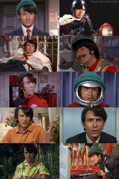 """thank-your-lucky-stars:  The Monkees: Mike Nesmith in season one  """"I thought I'd just sorta sit around the house and fail."""""""