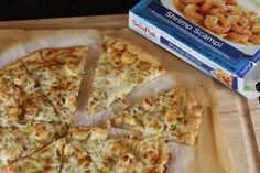 This easy shrimp pizza is easy to make and uses only a few ingredients. It is a shrimp pizza my whole family loves.