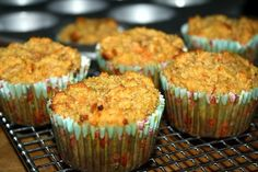 Almond Carrot Muffins