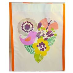 8 Hallmark Reusable Tyvek Fabric Gift Bags Bird Flowers Butterfly 7.5W x 9.5H x 4D >> You can find more details here : Wrapping Ideas