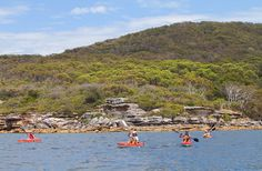 Here are the best places to go kayaking in Sydney.