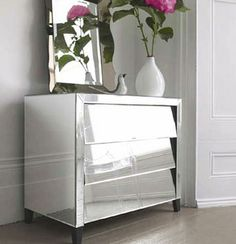 Contemporary mirrored furniture available online from http://www.robert-thomson.com/