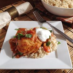 Infused with the flavor of cinnamon, clove and cardamom, this Slow Cooker Chicken Tikka Masala is a perfect meal for a chilly day.