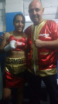 Una gran prueba tendrá en su carrera la nacida en la Ciudad de México, Brenda Fernández Mendoza mejor conocida en el mundo del boxeo como la 'Bambi'...