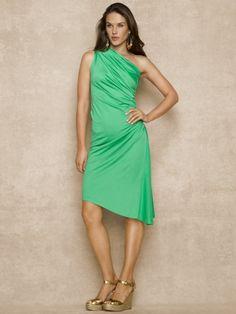 Silk-Blend Lucinda Dress - Blue Label Dresses - Ralph Lauren France