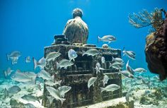 Astonishing Underwater Sculptures by Jason deCaires Taylor [30 pics]