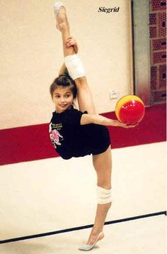 Alina Kabaeva as a child / RUS