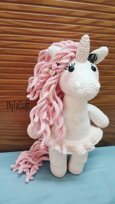 READY TO SHIP Crochet Princess Unicorn inspired by