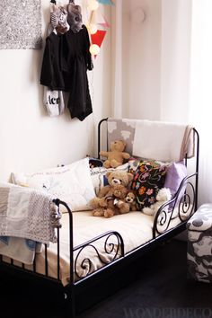 Unisex kids room, wonderdeco