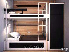 ..двух ярусная кровать.. .: интерьер, зd визуализация, квартира, дом, современный, модернизм, детская комната, 0 - 10 м2, мебель #interiordesign #3dvisualization #apartment #house #modern #nursery #010m2 #furniture