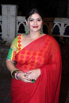 indian plus size women in sari - Google Search