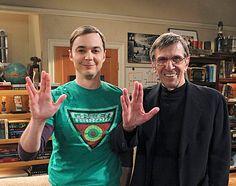 Sheldon Cooper & Spock