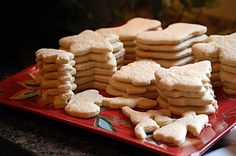 Best cut-out cookie recipe -- dough is easy to work with. I prefer cinnamon to nutmeg, though.