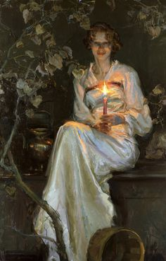 Would love to see this in the flesh, so to speak.  painter:  Daniel Gerhartz
