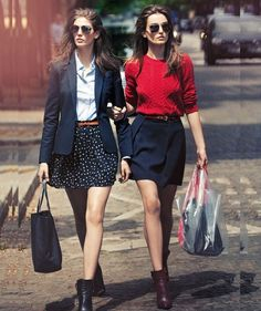 como usar bota cano curto 14 Office Outfits, Fall Outfits, Work Outfits, Preppy Skirt Outfits, Preppy Work Outfit, Preppy Outfits For School, Preppy Wardrobe, Office Attire, Office Wear