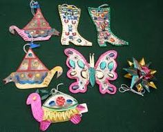 Image result for mexican tin decorations