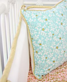 Caden Lane Baby Bedding - Coral and Gold Sparkle Baby Bedding, $192.00 (http://cadenlane.com/coral-and-gold-sparkle-baby-bedding/)