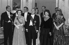 October 1984 State Visit of French President François Mitterrand (return dinner at the French embassy)