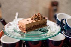 Vozdvizhensky cake. Dessert menu by Restoranskie.