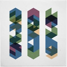 #452 The multi-verse – A new minimal geometric composition each day