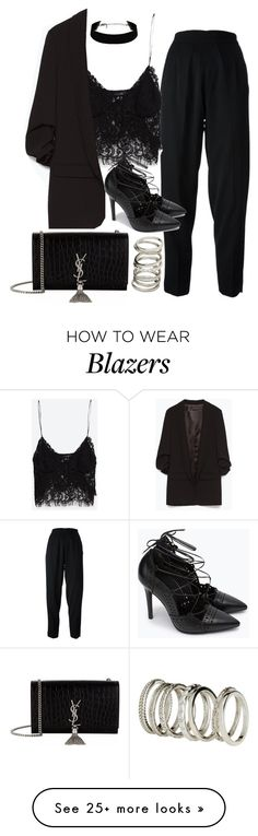 """Untitled #2007"" by alx97 on Polyvore featuring Chanel, Zara, H&M, Yves Saint Laurent, women's clothing, women, female, woman, misses and juniors"