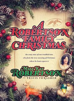 A Robertson Family Christmas: A novella by Miss Kay Robertson with Travis Thrasher   The giveaway, a copy of this hardback book, is open from October 20 - 31, 2014. I will announce winner in the first week of November.