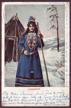 Images relating to the Reindeer and Caribou of Arctic North America, Fennoscandia and Siberia Lappland, Vintage Photographs, Vintage Photos, Old Images, Folk Fashion, Viking Age, Snow Queen, Folk Costume, Historical Pictures