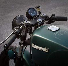 Kawasaki Z750 #caferacer discover #motomood