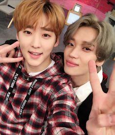 Kevin (U-KISS) & Niel (Teen Top)