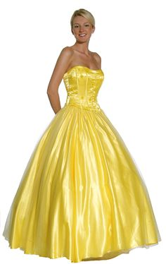yellow dress | ... Bridesmaids » The Bright Side of Yellow Dresses from Your Bridesmaids