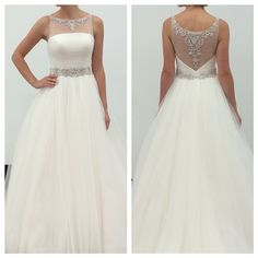 This regal style by Impression Bridal is fit for a princess.